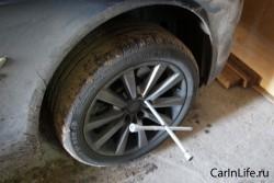 замена колеса на бмв