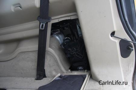 ленд ровер багажник