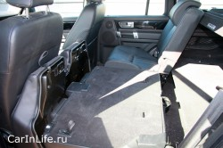 складывание сиденья Land Rover