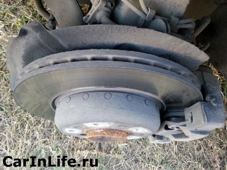 передний тормозной диск bmw