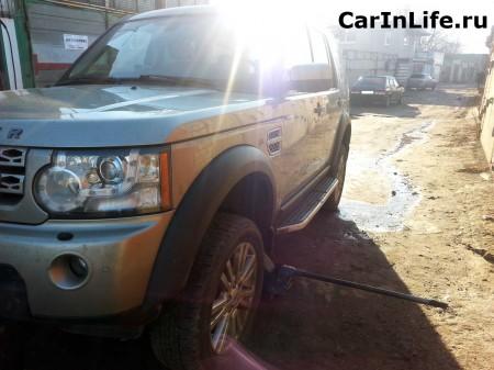 Land Rover Discovery 4 шиномонтаж