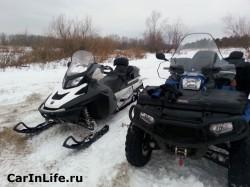 квадроцикл и снегоход